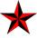 red-nautical-star
